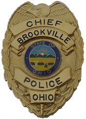 Brookville Chief of Police Badge