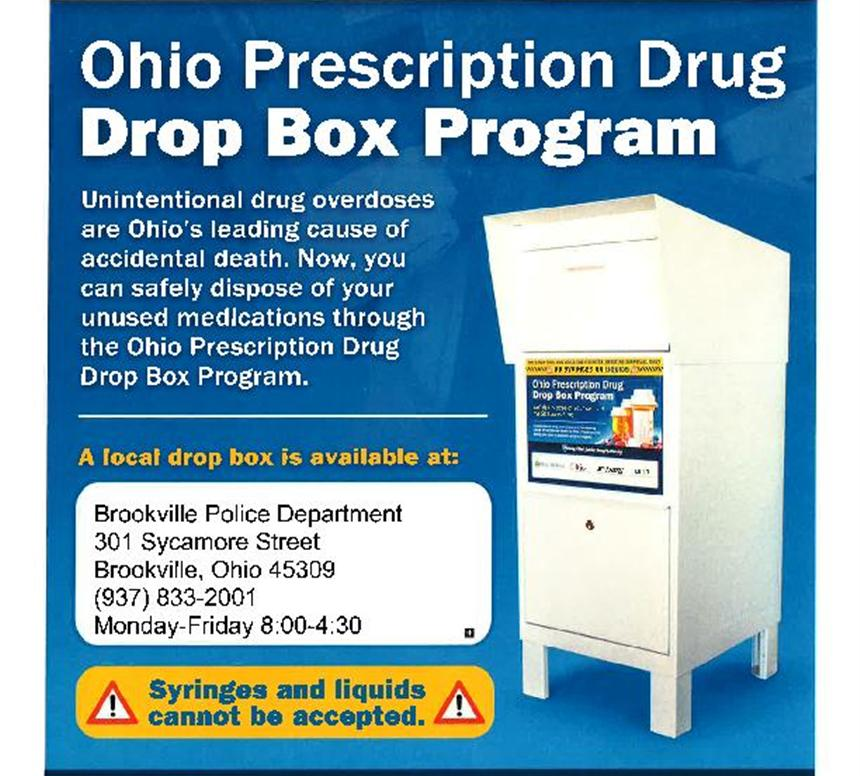 Ohio Prescription Drug Drop Box Program
